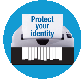 identity theft protect badge